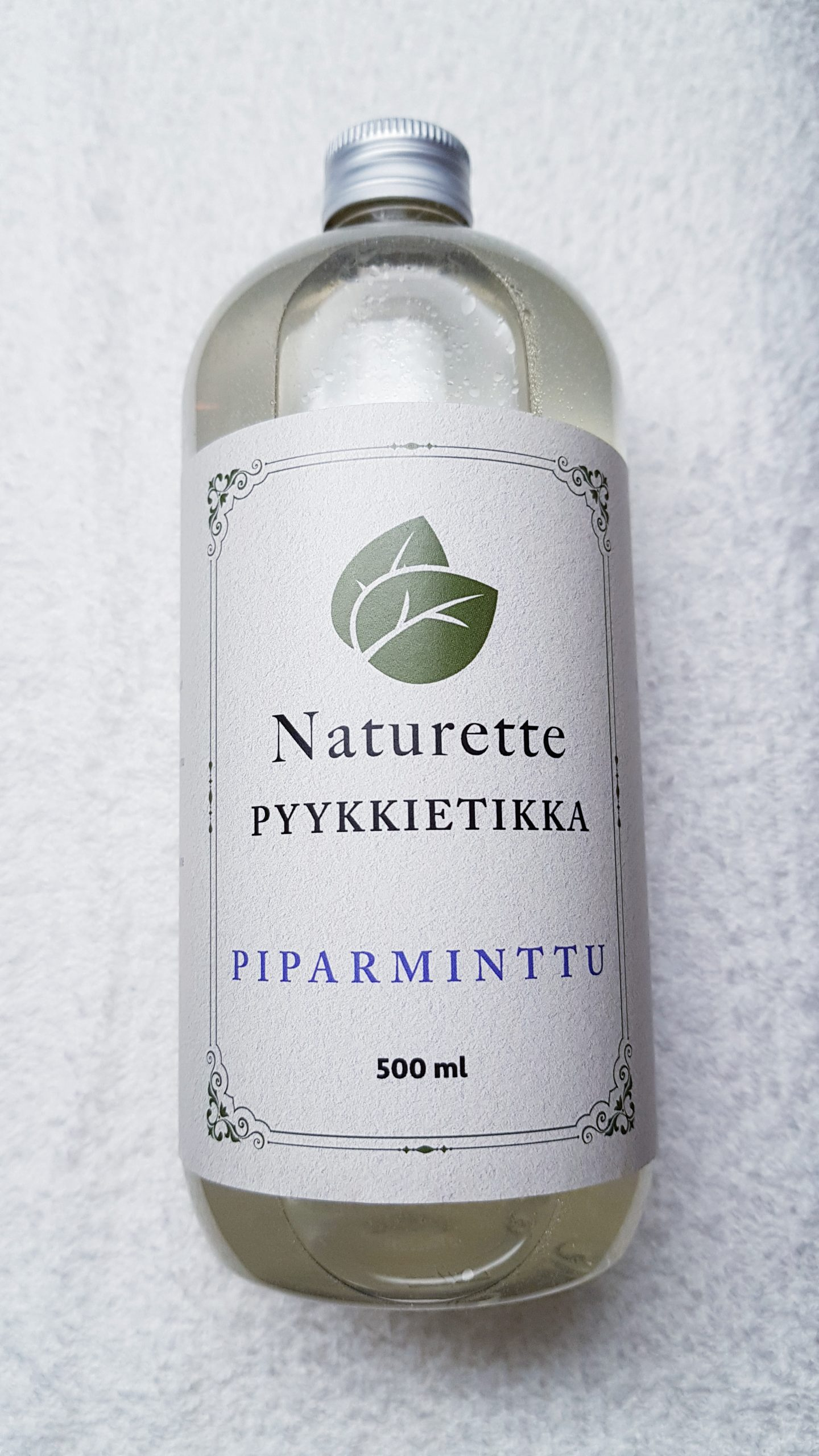 NATURETTE pyykkietikka Piparminttu, 500ml – kotimainen, luomu, ekologinen