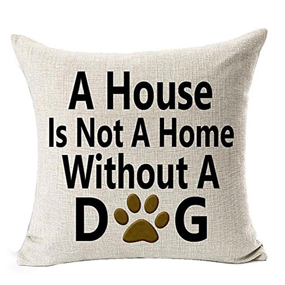 Koristetyynynpäällinen, A house is not a home… , 45x45cm
