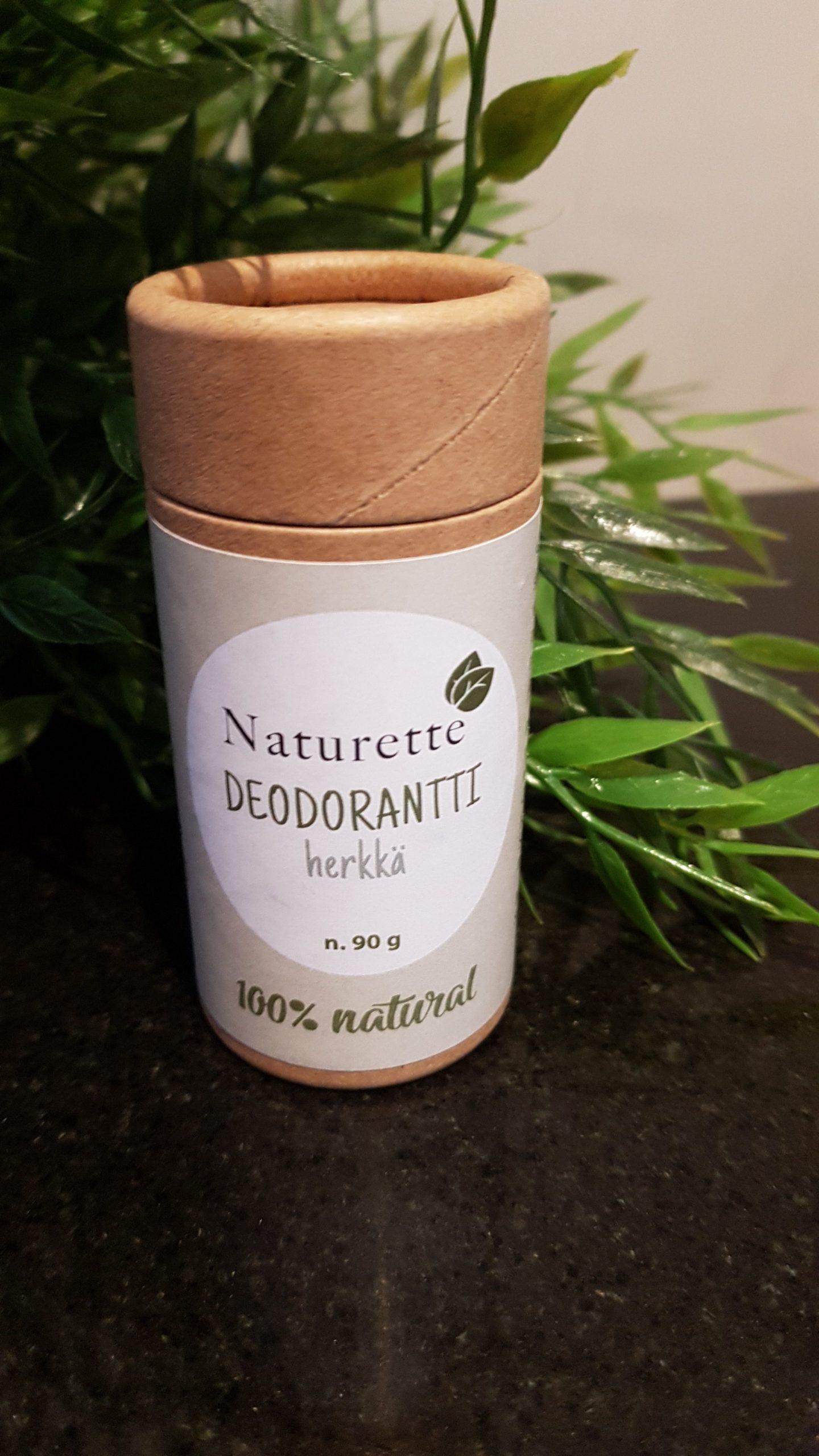 Naturette Deo Stick, Herkkä, luomu, ekologinen, kotimainen, 90g