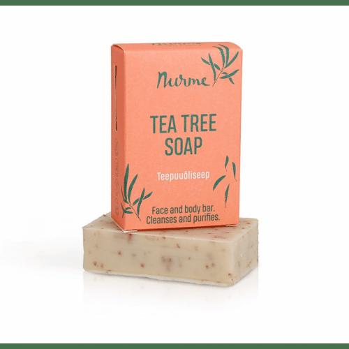Nurme Tea tree saippua