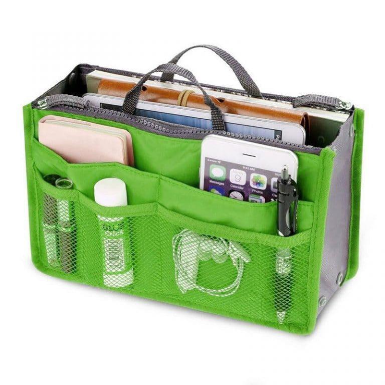 laukun järjestelijä vihreä